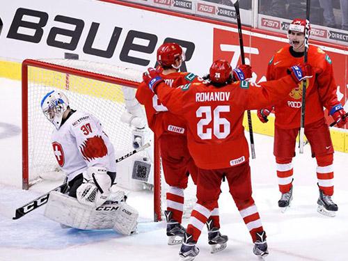 Сборная России по хоккею завоевала бронзу на ЧММ